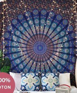 Baumwolle Mandala Wandbehang