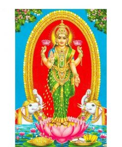 Indische Göttin Wandbehang